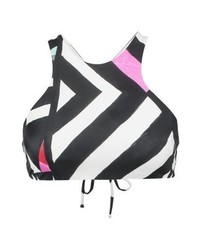 Billabong Surf Bikini Top Blackwhite