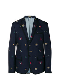 Gucci Embellished Cambridge Jacket