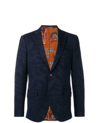 Etro Printed Blazer Jacket