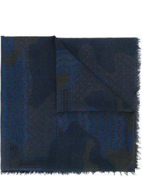 Patchwork print scarf medium 707051