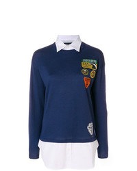 Dsquared2 Camp Patched Sweater