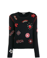 Chinti & Parker Embroidered Sweater