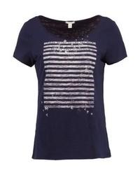 Print t shirt navy medium 4472833