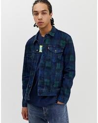Levi's The Denim Trucker Jacket In Paddington Station Check Print