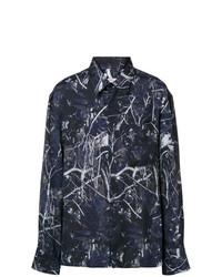 Lanvin Foliage Print Shirt