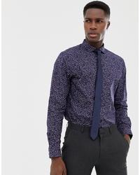Jack & Jones Premium Slim Fit Shirt With All Over Print