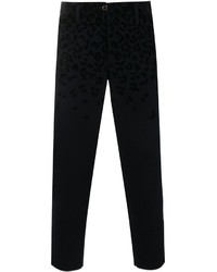 Kolor Cropped Leopard Print Trousers