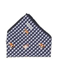Eton Tie Blue Vichy Dog