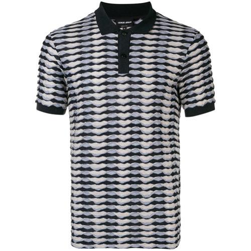 e94660fe825d6 ... Giorgio Armani Abstract Print Polo Shirt ...