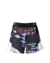 Versace Jeans Colour Block Drawstring Shorts