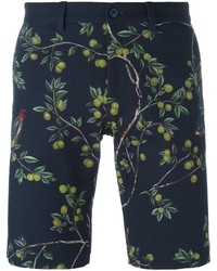 Dolce & Gabbana Lemon Tree Print Bermuda Shorts