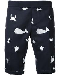 Thom Browne Printed Chino Shorts