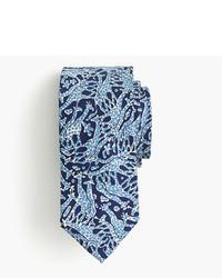 J.Crew Drakes Silk Tie In Giraffe Print