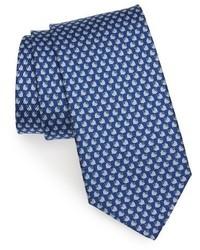 Salvatore Ferragamo Tops Print Silk Tie