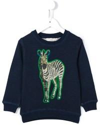 Stella McCartney Kids Betty Zebra Print Sweatshirt