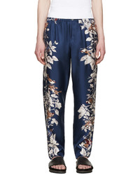 Navy Print Sweatpants