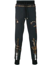 Dolce & Gabbana Sword Print Track Pants