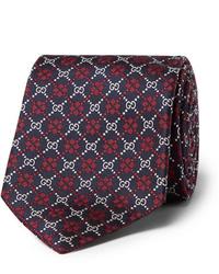 Gucci 7cm Logo Jacquard Silk Tie