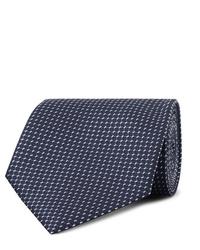 Ermenegildo Zegna 8cm Silk Jacquard Tie