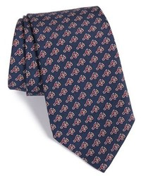 Atlanta braves mlb print silk tie medium 417036