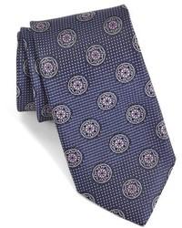 John W Nordstrom Tranvai Medallion Silk Tie