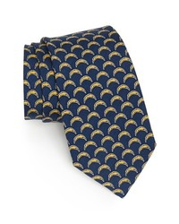 San diego chargers print tie navy regular medium 417045