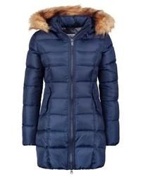 Down coat navy blue medium 4000624