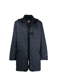 Y-3 Quilted Hooded Jacket
