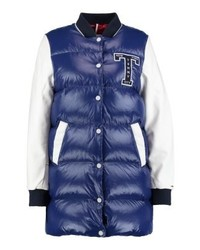 Tommy Hilfiger Thdw Down Bomber 33 Down Coat Blue
