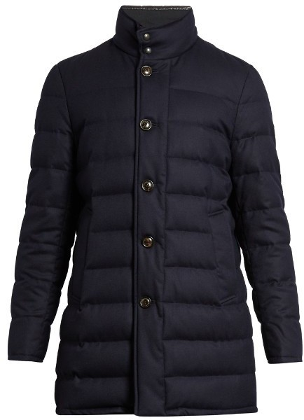 df9f29bae Vallier Water Repellent Wool Quilted Down Coat