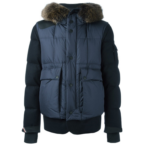 e177d700c9913 ... MONCLER GRENOBLE Colmiane Padded Jacket Blue ...