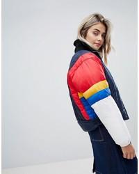 Tommy Jeans Colourblock Padded Jacket