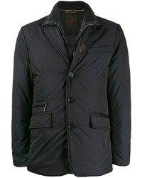 Moorer Padded Single Breasted Blazer