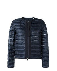 Moncler Sheer Panel Padded Jacket