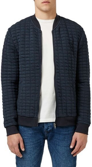 Topman Quilted Jersey Bomber Jacket | Where to buy & how to wear