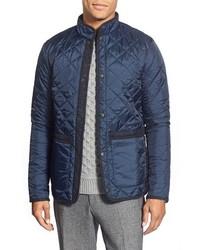 Barbour Tweed Liddesdale Slim Fit Quilted Jacket