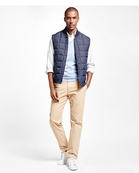 Brooks Brothers Reversible Quilted Vest