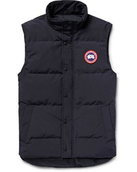 Garson quilted shell down gilet medium 1160945