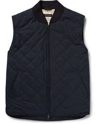 Loro Piana Horsey Quilted Storm System Gilet