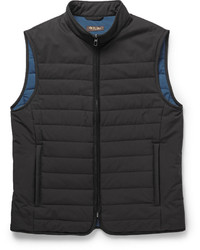 Quilted storm system shell gilet medium 701206