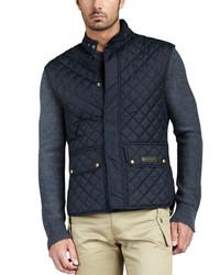 Quilted two pocket vest medium 145677