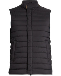 Stand collar quilted gilet medium 1156349