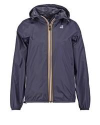 K-Way Claudette Waterproof Jacket Dark Blue