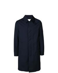 MACKINTOSH Navy Storm System Wool 34 Coat Gm 001bs