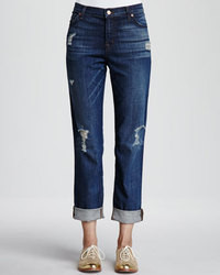 Aiden flintlock distressed boyfriend jeans medium 41828