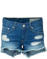 Distressed denim shorts medium 759238