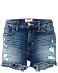 Soko distressed denim shorts medium 4105636