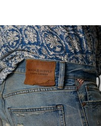 Denim & Supply Ralph Lauren Denim Supply Distressed Straight Fit Jean