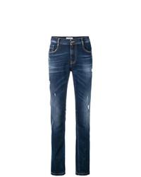Dirk Bikkembergs Distressed Jeans