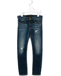 Finger In The Nose Distressed Skinny Jeans
